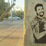 گرافیتی صمد بر بازوی چگوارا/ نفیر