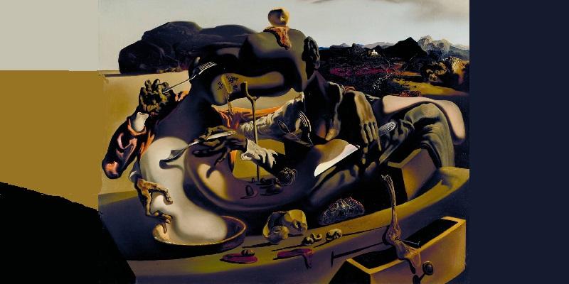 طرح: آدمخواری پاییز اثر سالوادور دالی