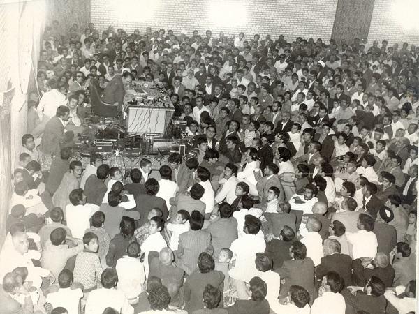 سخنرانی فخرالدین حجازی در حسینیه بعثت یزد پیش از انقلاب