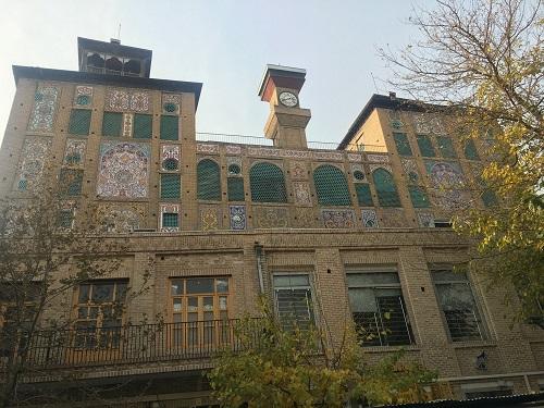 عمارت خورشید خیابان ناصر خسرو